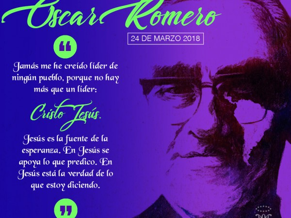 Postal Monseñor Romero 2018